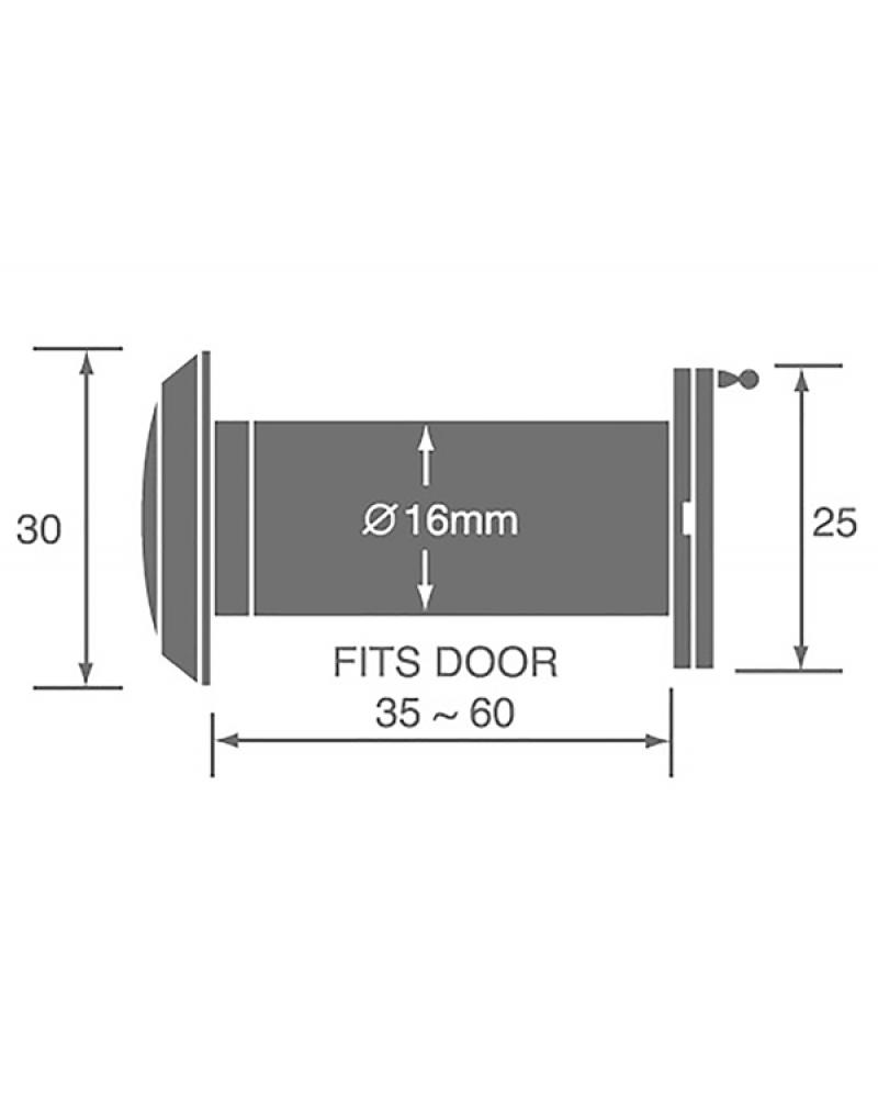 Bonco DV-014C Door Viewer