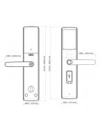 Lockly PGD829AF 5-in-1 Smart Door Lock