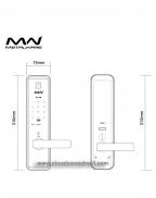 Metalware MW-380F 5-in-1 Smart Door Lock