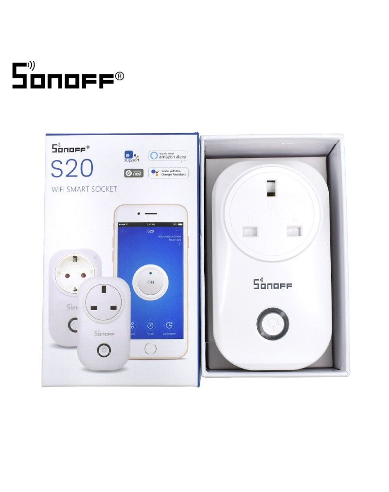 Sonoff S20 Smart Socket - WiFi Smart Plug
