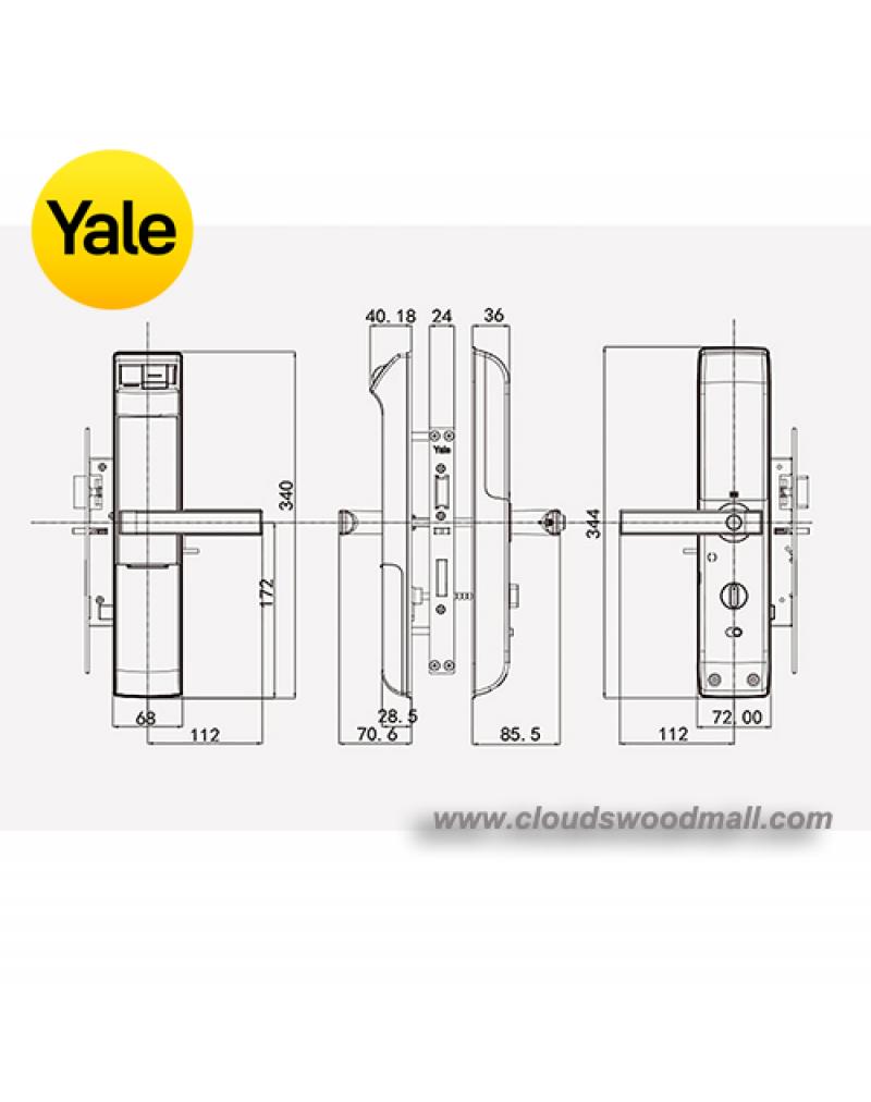Yale YDM7116 5-in-1 Smart Door Lock