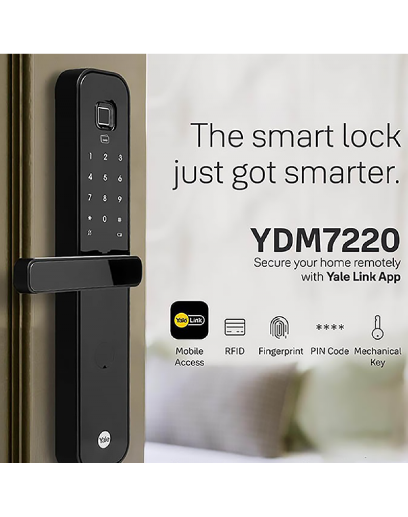 Yale YDM7220 5-in-1 Smart Door Lock